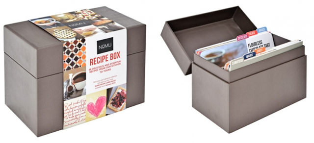 Nomu recipe box